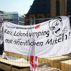 Kein Lohndumping mit öffentlichen Mitteln