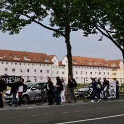 Trauerzug, Mainzer Landstraße V