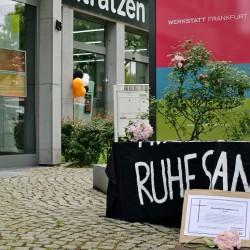 Ruhe sanft, Werkstatt Frankfurt