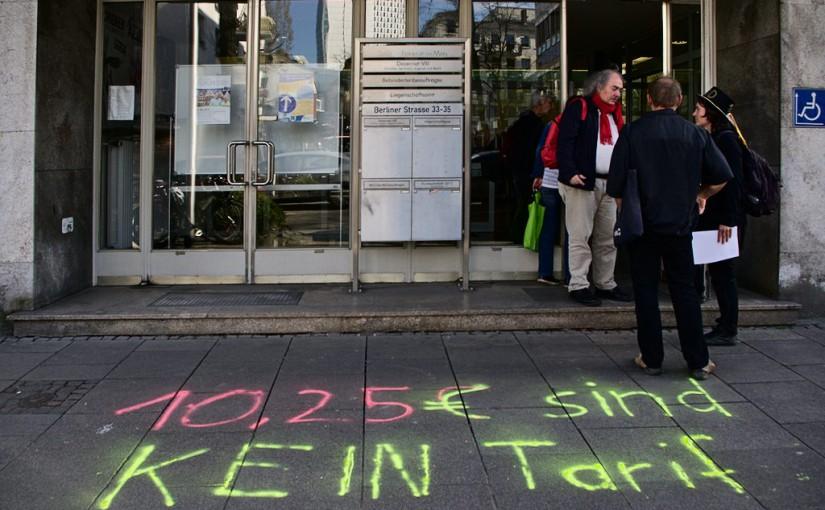 Stadt Frankfurt am Main hintergeht Stadtverordnetenbeschluss – Soliaktion für Tariflöhne in der selbstorganisierten Pflege